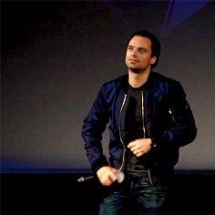 your bucky — Sebastian Stan introduces 'Captain America: Civil...