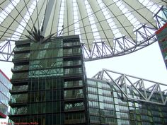 Sony Centre (modern) by Helmut Jahn, Berlin