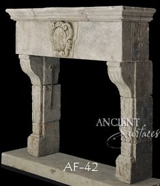 Wonderful Photos antique Stone Fireplace Style Page 3 of our Unique Collection of Antique Stone Fireplace Mantles by Ancient Surfaces. Stone Fireplace Mantles, Modern Stone Fireplace, Limestone Fireplace, Stone Fireplaces, Mediterranean Style Homes, Rustic French, Old Stone, Geometric Lines, Modern Buildings