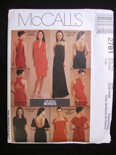RESERVED McCalls Infinity Dress Pattern 2781 - Five Ways To Wear It RESERVED FOR maisiewee