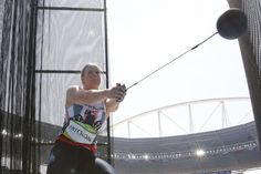 Sophie Hitchon: Bronze in the women's hammer throw (15 August)