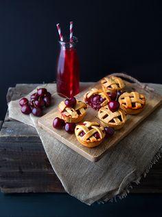 Cherry Pies {ou Mini Tourtes à la Cerise} #recette @ 100 % Végétal⎜Cuisine Vegan