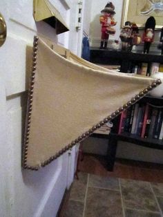 Tired Of Opening Your Door, Stepping Around Your Mail, Then Having To Pick  It Up Off The Floor? This Plywood And Fabric Mail Catcher Will Help.