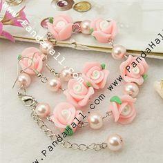 Fashion Jewelry Sets: Earrings & Bracelets SJEW-JS00166-01-1