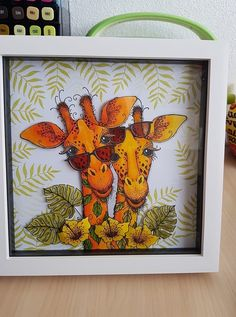Whimsy Stamps, Ink Stamps, Giraffe Birthday, Lavinia Stamps, Kids Birthday Cards, Stamp Making, Animal Cards, Heartfelt Creations, Copics