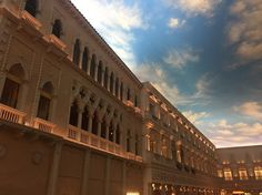 You are inside but it feels like outside! This is so cool a taste of Venice. #venetian #venice #lasvegas #travel