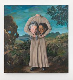 Ozbolt GenderBender, 2012  Acrylic on canvas  163 x 152.5 x 3 cm / 64 1/8 x 60 x 1 1/8 in