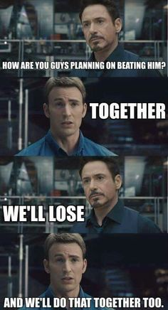 TOGETHER ♥ <-Seriously, like how do you not love Captain America? Another of my favorite Cap moments.