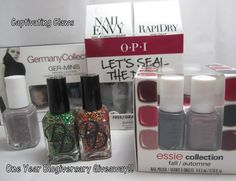 Captivating Claws: One Year Blogiversary Giveaway!!!!