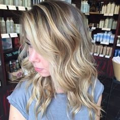Lovely blonde balayage  :: RedBloom Salon