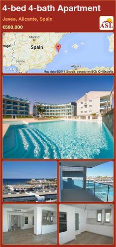4-bed 4-bath Apartment in Javea, Alicante, Spain ►€590,000 #PropertyForSaleInSpain