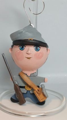 Civil War Soldier. This was a special order for a Civil War enthusiast.