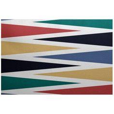 Simply Daisy 2' x 3' Backgammon Geometric Print Indoor Rug, Blue