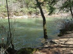The Gentleman's Swimming Hole;  Rugby, TN.  I've spent many a summer afternoon here...memories from childhood forward:)