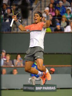 Rafael Nadal @JugamosTenis #tennis #tenis #IndianWells