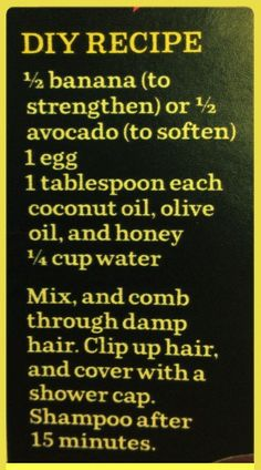 Hair Growth Mask