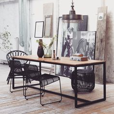 "14 Synes godt om, 1 kommentarer – Little Things (@littlethings.dk) på Instagram: ""This beautiful Form table from House Doctor is made from mango-tree and iron, giving it a rustic…"""