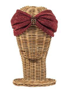 Turbante de lana con detalle de búho. Hippie, boho-chic, ethnic style. Fashion, Casual Style. Rosebell - wool turban - winter turban