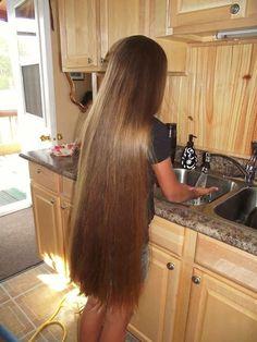 A straight Italian Guy, Lover of Long, Silky Hair. Long Silky Hair, Long Brown Hair, Straight Long Hair, Thick Hair, Really Long Hair, Super Long Hair, Beautiful Long Hair, Gorgeous Hair, Hair Lengths