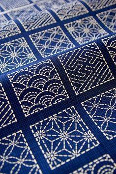 Año nuevo, técnica nueva...este año SASHICO, un bordado japonés, con el que se pueden hacer un montón de cosas, os dejo unas ideas para que...