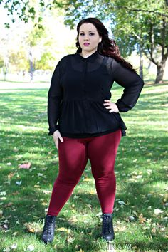 Plus Size OOTD Dark Romance #plussize #outfit #fatshion via @RavingsByRae