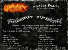 recette brioche maison à la machine à pain