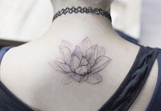 Elegant lotus flower by Tattooist Flower