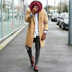 Mens Fashion and Style - Fall Looks - yes or no? Rugged Style, Men With Street Style, Men Street, Street Wear, Men Looks, Outfits Hombre, Suit Up, Mens Clothing Styles, Trendy Clothing
