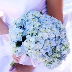 bouquet in blu