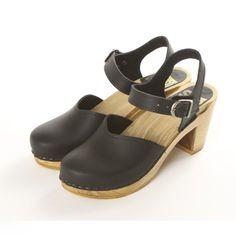 "Mary Jane Clog - 3"" High Heel - Sven Style # 110-83"