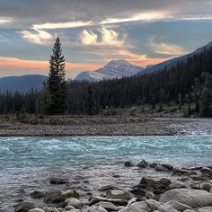 We love sunsets everywhere we go but there's something extra special watching them within Jasper National Park. Jasper National Park, National Parks, Newfoundland, Our Love, Sunsets, Canada, Mountains, Nature, Travel
