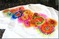 Cherry Blossom: DIY: Sharpie Tie Dye