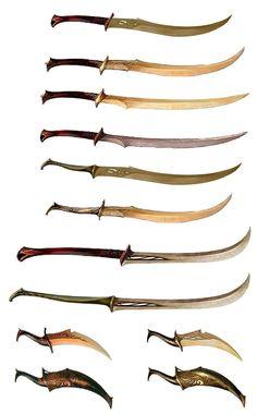 Elvish Weapons