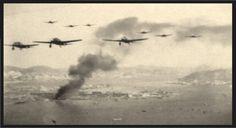 Japanese bombers over Hong Kong December 1941