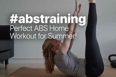#abstraining for summer - last minute workout for the outdoor season! #summerbody #summerfit #stepsapp Perfect Abs, Summer Is Coming, Summer Body, Flat Belly, At Home Workouts, Bathing, Motivation, Fitness, Blog