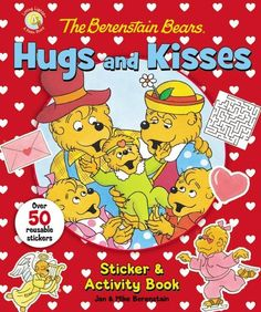 Winter blues are no match for The Berenstain Bears Hugs and Kisses Sticker and Activity Book. Kids will definitely keep occupied with the hours of fun that this book offers. #ValentinesDay #kids #holiday #giveaway @zonderkidz
