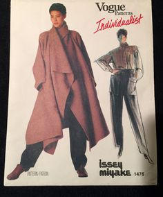 Vogue Individualist Pattern Classic Issey Miyake by WrapsETC