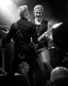 Olli and Jaska rocking out!!!   https://www.instagram.com/p/BFQYhd3oA2O/