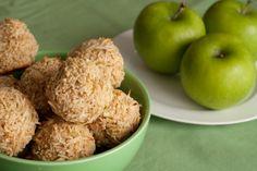 Candy Apple Macaroons ~ Vegan, Gluten free, Dairy free, Sugar free, Yeast free