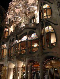 casa Batlló de Gaudí - Modernismo catalán