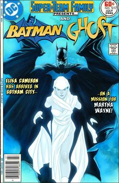 Super-Team Family: The Lost Issues!: Batman and Ghost