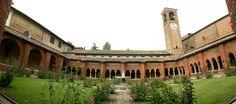 Il chiostro del monastero.