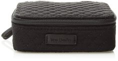 Vera Bradley Iconic Travel Pill Case Vv Classic Black * You can find more details by visiting the image link. (This is an affiliate link) Vera Bradley, Travel Must Haves, Pill Organizer, Supplements For Women, Travel Accessories, Evening Bags, Bag Making, Shoes Online, Pouch