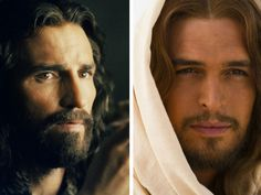 Jim Caviezel portrays Jesus Christ in The Passion of the Christ 2004 and Diogo Morgado plays the same figure in Son of God 2014