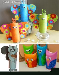 Simple steps to make butterfly with paper roll. #DIY #HowTo #kidsactivities #kidscrafts