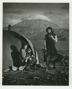 Gypsies Loch Erribol, north west Scotland, 1939.