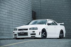 #Nissan Skyline GTR R34 www.asautoparts.com
