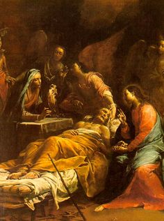 The Death of St.Joseph, Giuseppe Crespi