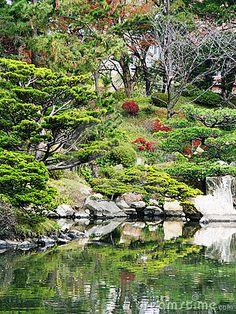 Japan Hiroshima Shukkeien Gardens by Pdtnc, via Dreamstime