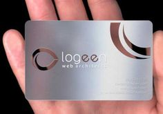 20 Modern Metal Business Cards for Inspiration